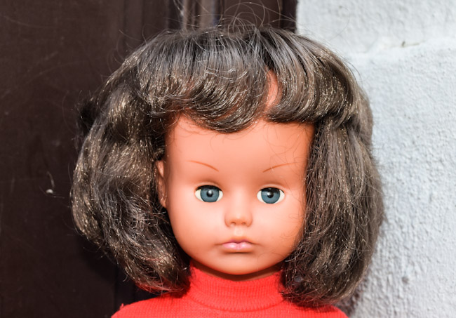 Jasmine, poupée Gégé